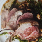 Rack of Welsh Lamb with Samphire