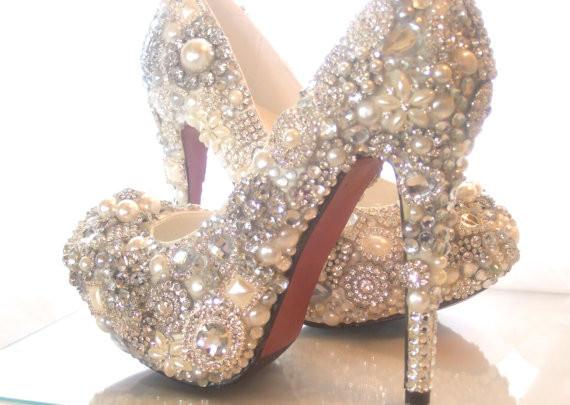Luxury crystal high heels for 2014  76e1ff7a2e
